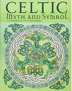 Celtic Myth Symbol A Coloring Book Of Art And Mandalas