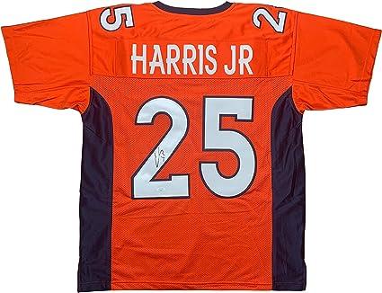 Chris Harris Jr. autographed signed jersey NFL Denver Broncos JSA ...