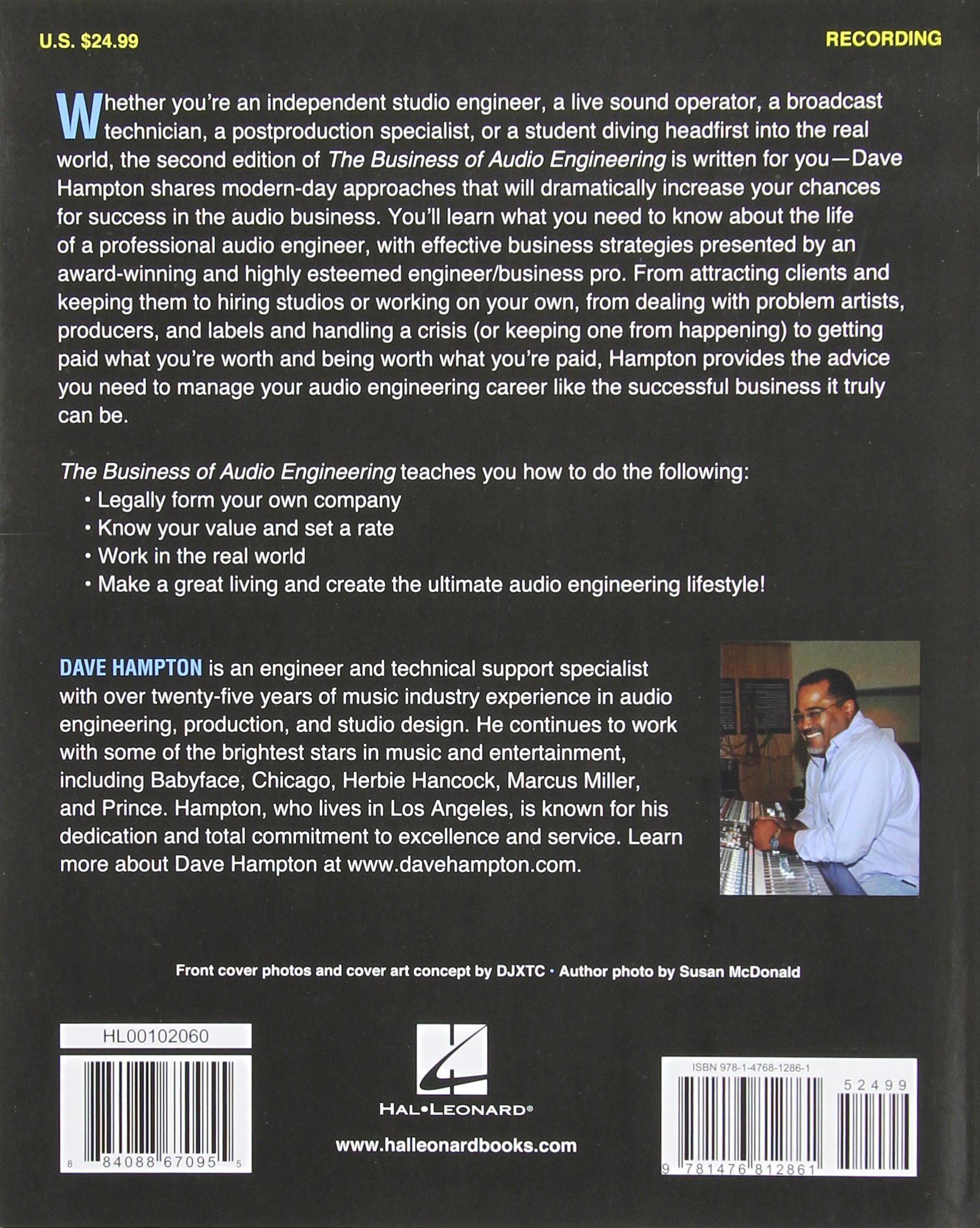 The Business of Audio Engineering (Music Pro Guides)