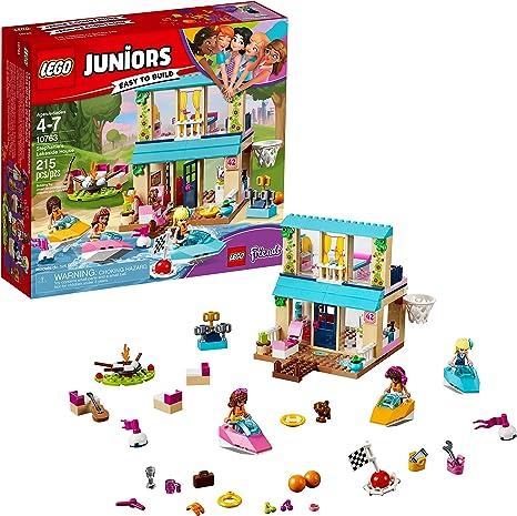 Amazon.com: LEGO Juniors Stephanies Lakeside House 10763 ...