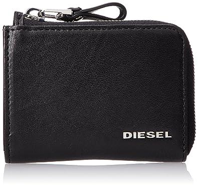 3f30edffb905 Amazon   (ディーゼル) DIESEL メンズ 財布 X05252PR013 UNI ブラック ...