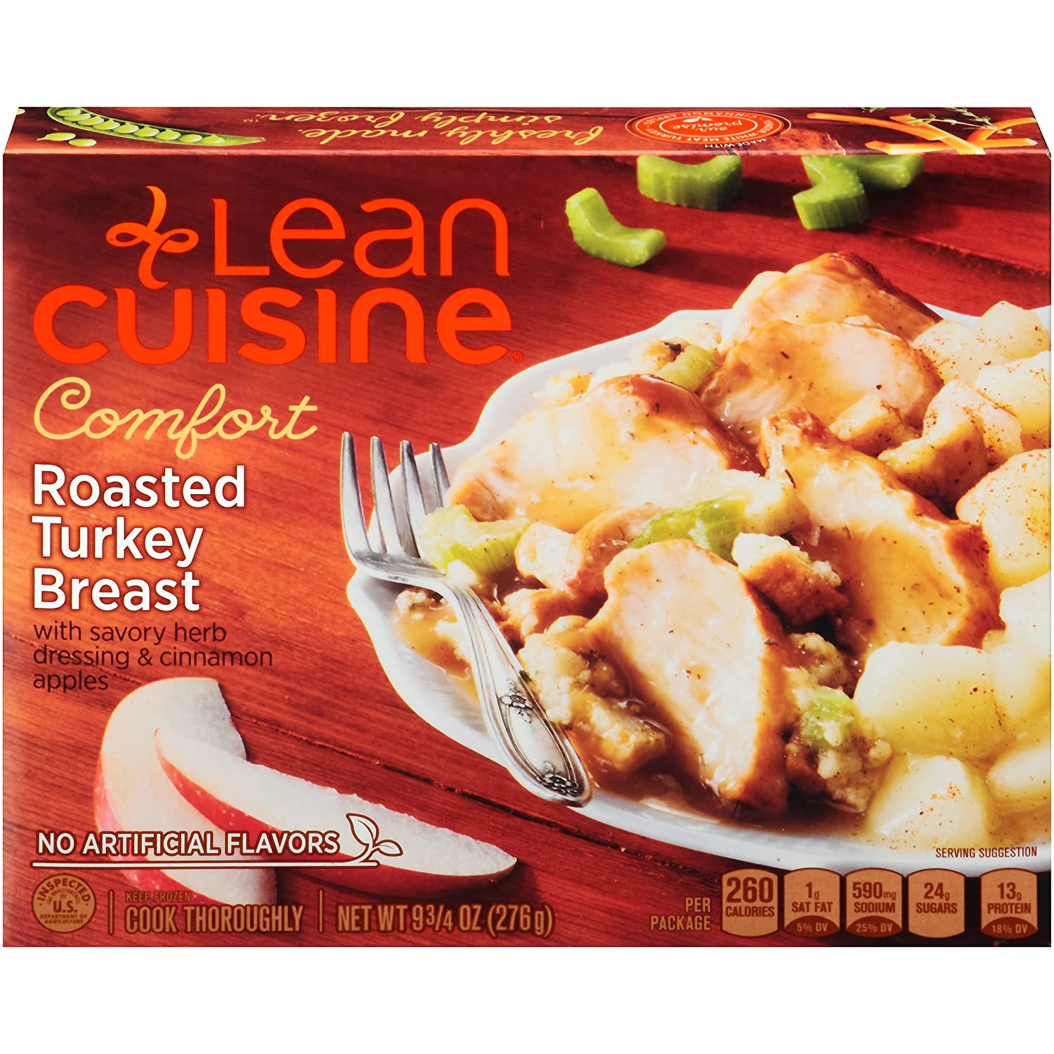 Lean Cuisine Roasted Turkey Meal 9.75 oz, Pack of 12 Nestle Retail Stouffer