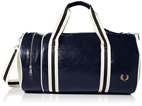 Amazon.com  Fred Perry Men s Classic Barrel Bag  Clothing b31a8e2871842