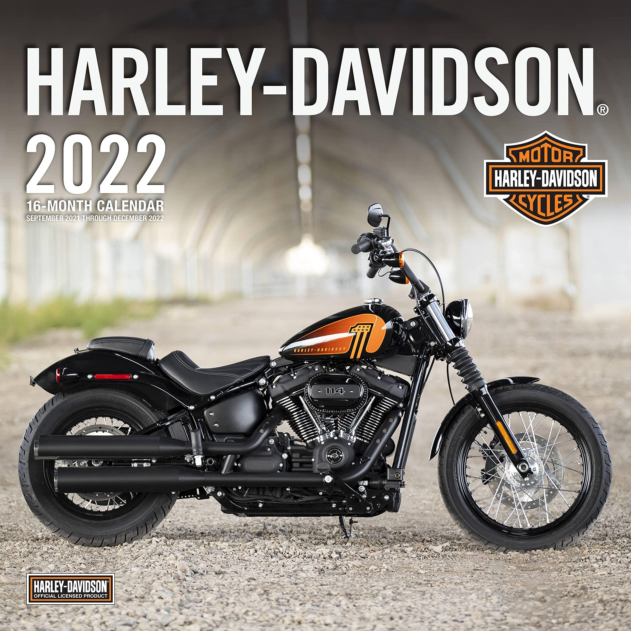 Image for Harley-Davidson® 2022: 16- Month Calendar September 2021 Through December 2022