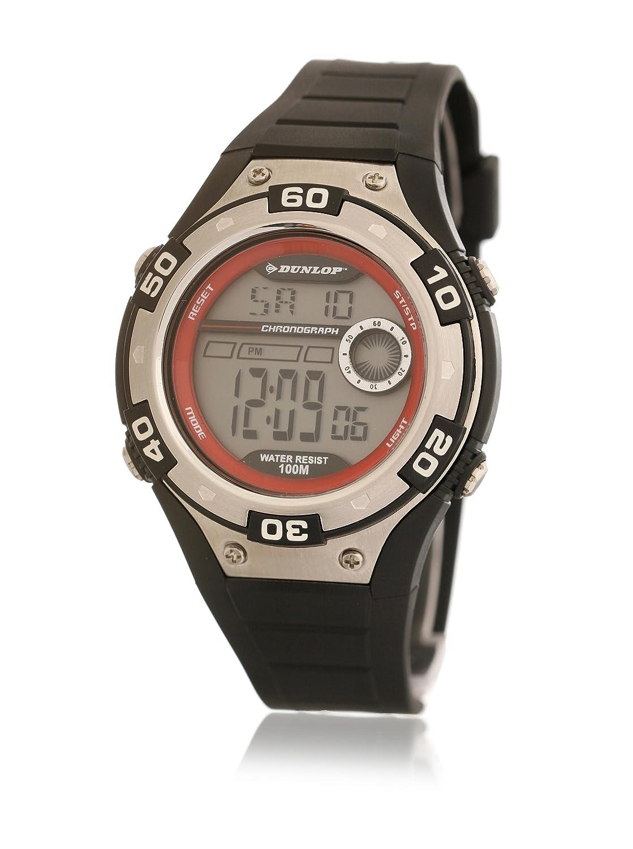 Dunlop Reloj Digital para Hombre de Automático con Correa en Resina DUN-144-G07: Amazon.es: Relojes