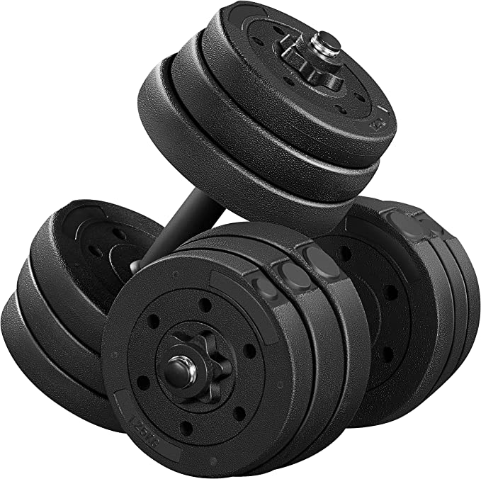 ND Fitness 12kg Dumbbell Hand Weights Set /& Case Gym//Exercise//Toning//Aerobics