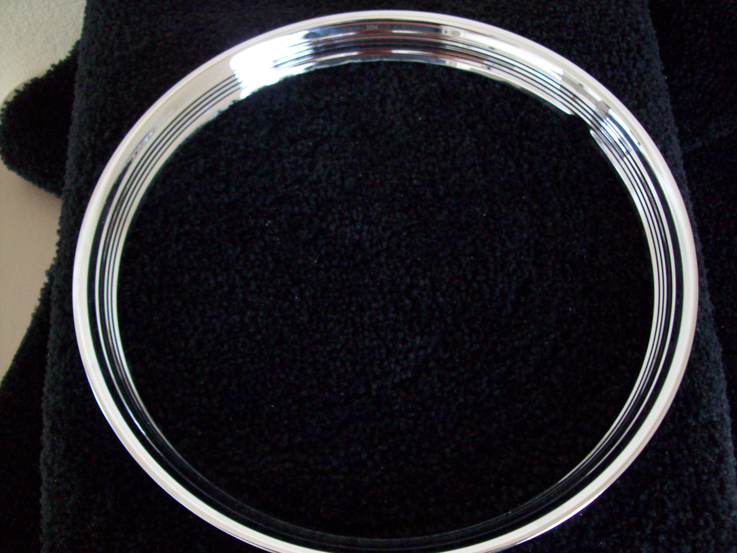 16'' Hot Rod Vintage Ribbed Beauty Trim Rings by Eagle Flight