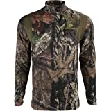 Details about  /NEW 3XL Mens Mossy Oak Thermal Henley Camo Long Sleeve Shirt Hunting Base Layer