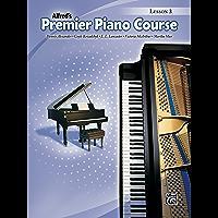 Premier Piano Course: Lesson Book 3 book cover