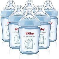"""Nuby -. Juego de biberones""""Touch Natural"""", de 270"""