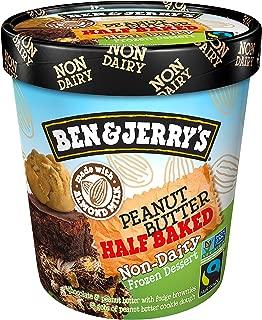 product image for Ben & Jerry's Non-Dairy Frozen Dessert Peanut Butter Half Baked Certified Vegan Peanut Butter, 16 oz