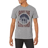 American Classics Back to The Future Save The Clock Tower Adult Mens T-Shirt