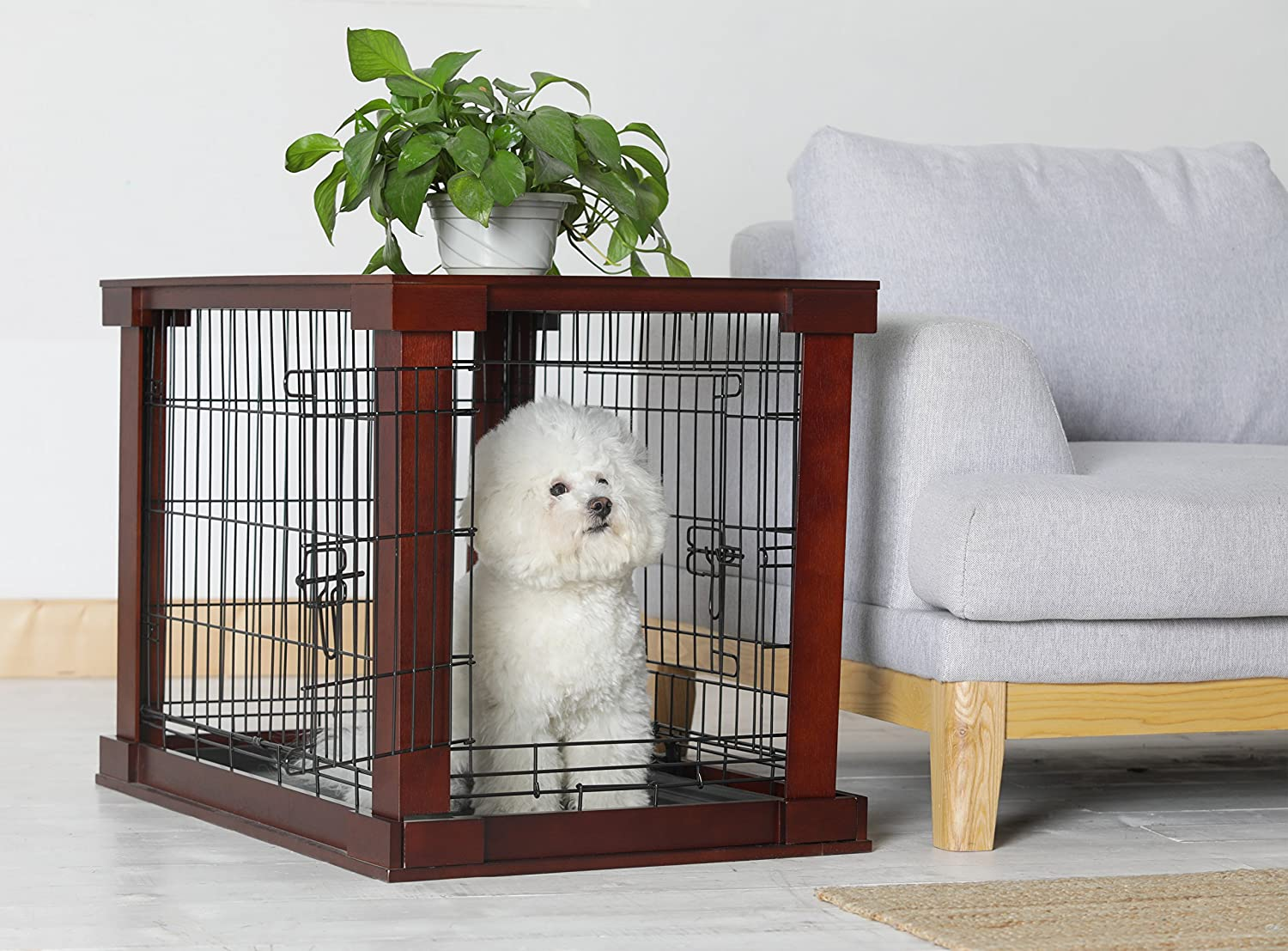 Amazon.com : Large cage with crate cover : Pet Crates : Pet Supplies