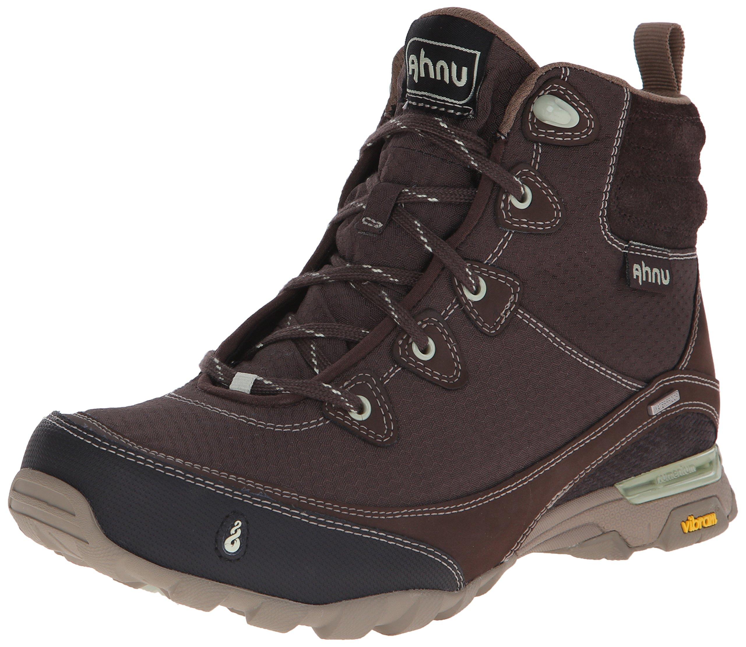 Ahnu Women's Sugarpine Waterproof Hiking Boot, Mulch, 9 M US