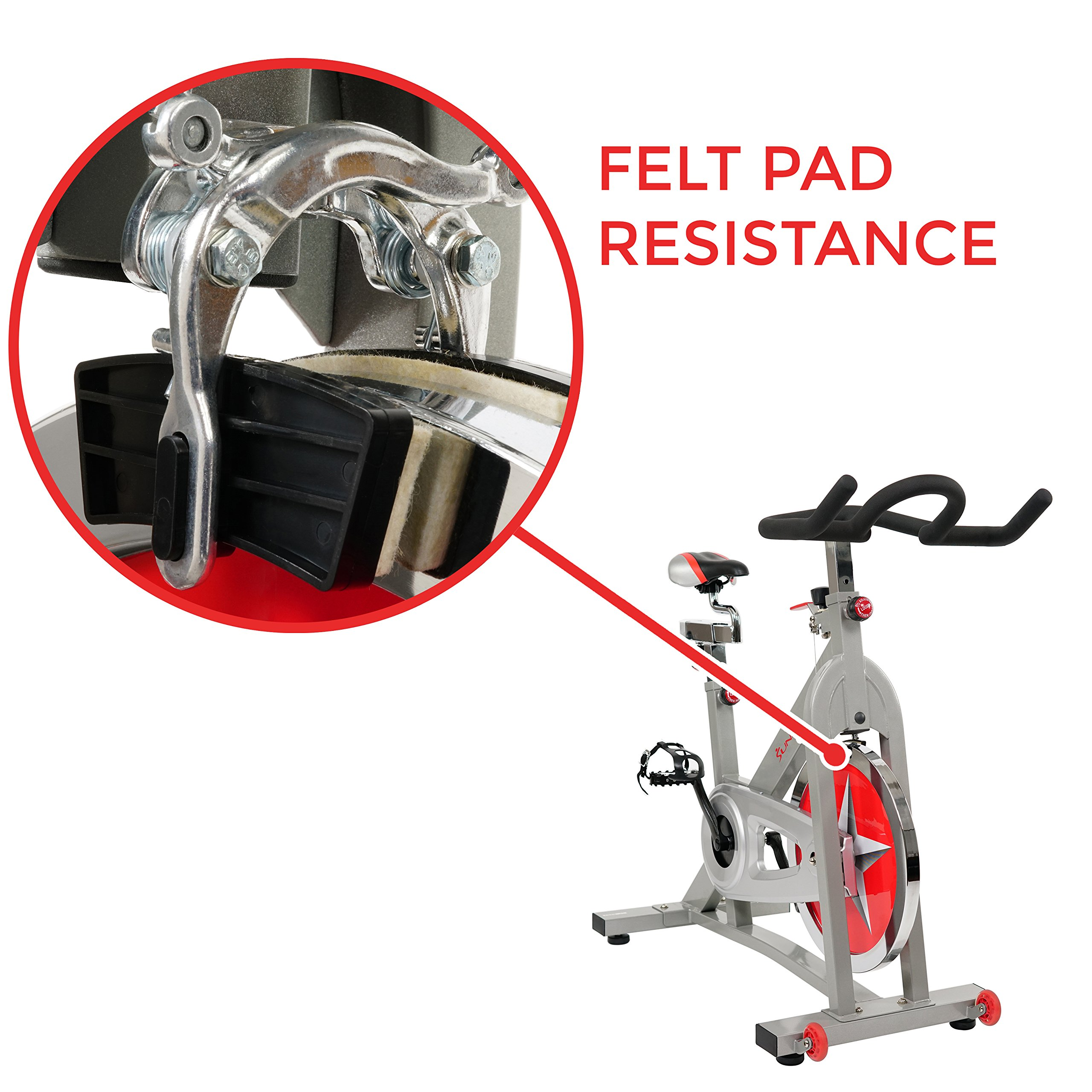 Sunny Health & Fitness Pro Indoor Cycling Bike by Sunny Health & Fitness (Image #5)