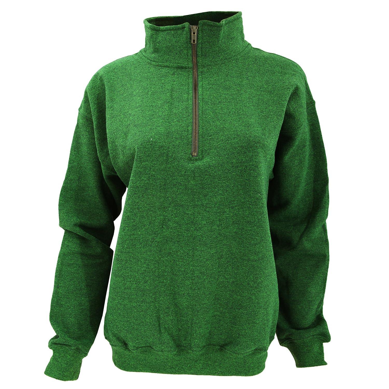 Gildan Adult Vintage 1//4 Zip Sweatshirt Top