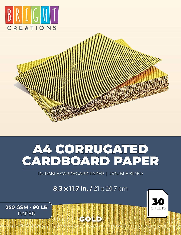36 Hojas de Papel de cartulina con Purpurina tama/ño A4 con 12 Colores Vivos para Manualidades