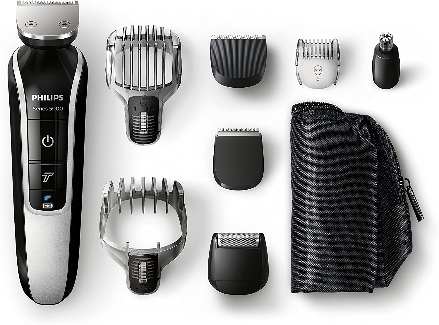 Philips MultiGroom QG3371/16 - Set de arreglo personal, resistente ...