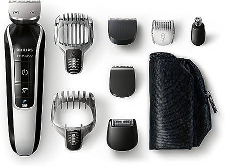Philips MultiGroom QG3371/16 - Set de arreglo personal, resistente al agua, con funda de viaje, incluye 8 accesorios: Amazon.es: Salud y cuidado personal