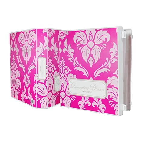 image relating to Printable Quinceanera Checklist named UniKeep Quinceañtechnology Planner - Red