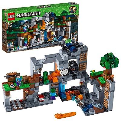 LEGO Minecraft The Bedrock Adventures Costruzioni: Toys & Games