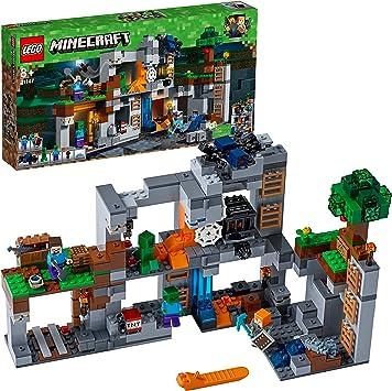 LEGO Minecraft - Las Aventuras subterráneas (21147): Amazon.es ...