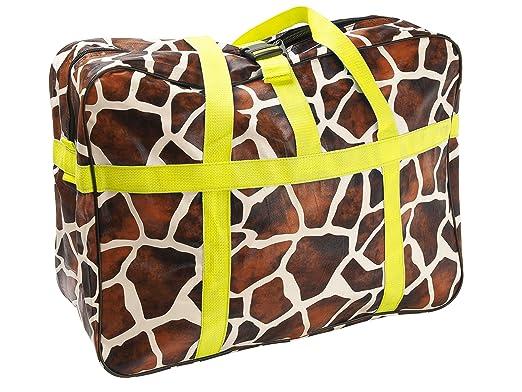 Amazon.com: Wanted Giraffe Print XL - Bolsa de fin de semana ...
