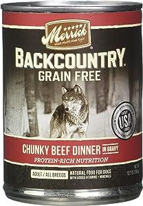 Merrick PET Food Backcountry Chunky Beef