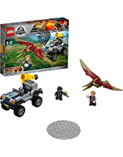 LEGO 75926 Jurassic World Fallen Kingdom Pteranodon Chase Playset, Dinosaur Toy, Fun Building Sets for Kids