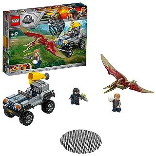 Lego Jurassic World Set Mattoncini Fuga sulla girosfera del Carnotaurus,, 75929