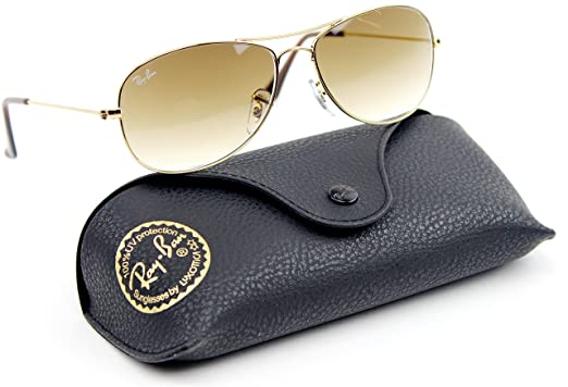 Image Unavailable. Image not available for. Color  Ray-Ban RB3362 Cockpit  Gradient Lens Unisex Sunglasses (Gold ... 11838b4b46