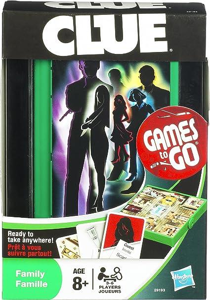 Travel Cluedo (2011 Refresh) - Juego de Tablero (Hasbro) [Importado de Inglaterra]: Amazon.es: Juguetes y juegos