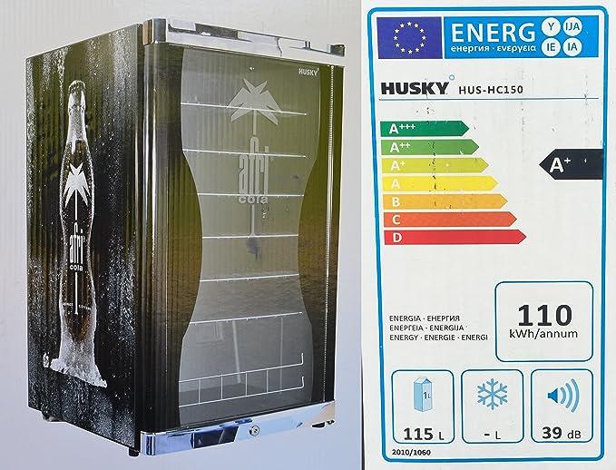 Husky Hus de HC 150 HIGHCUBE High Cube Botella Frigorífico ...