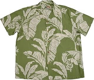 product image for Paradise Found Mens Paradise Banana Shirt Olive 2X