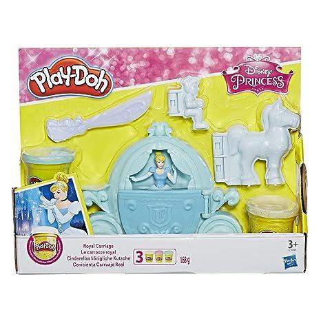 Play-Doh - Carruaje Real de Cenicienta (Hasbro C1045EU4)