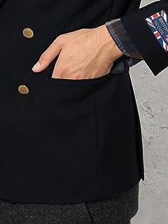 British Wool Double Breasted Blazer 3222-186-0302: Navy