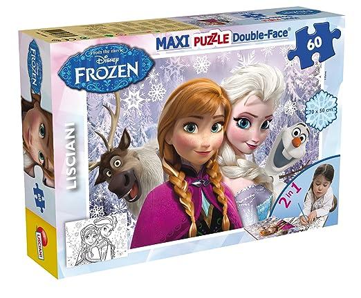 12 opinioni per Lisciani 46881- Puzzle Df Supermaxi 60 Frozen Tit 2