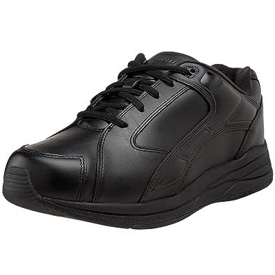 Men'S Drew Black Leather Force