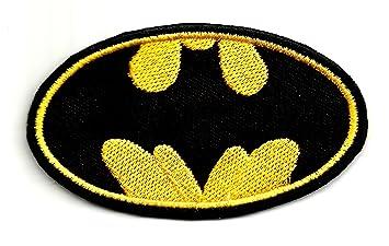 ... DC Comics película Classic Batman | bordado de alta calidad Hierro en parche bordado para coser en insignias para ropa chaquetas camisetas abrigos ...