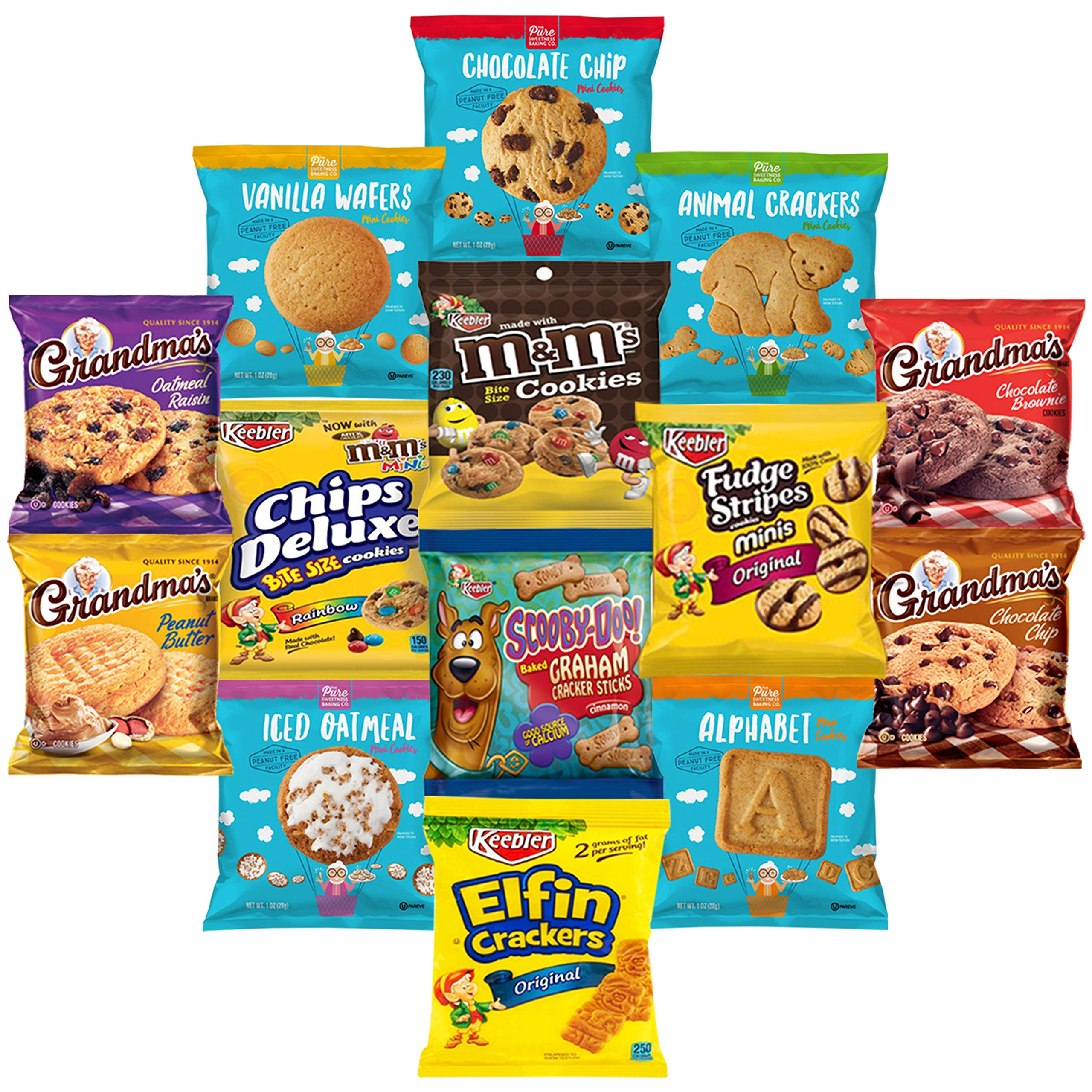Cookies, Chips & Candies Ultimate Snacks Care Package Bulk Variety Pack Bundle Sampler (50 Count) by Snack Chest (Image #3)