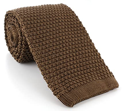 Silk Knitted Tie Amazon Clothing