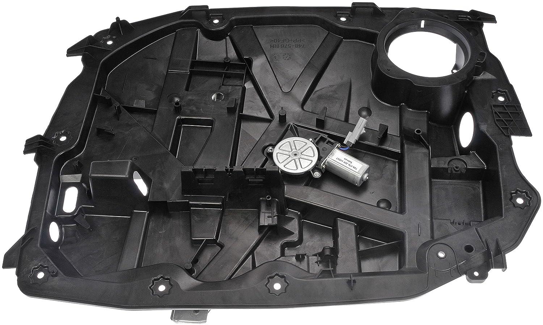 Dorman 748-576 Front Passenger Side Power Window Regulator and Motor Assembly for Select Jeep Models