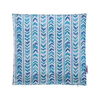 Christopher Knight Home 311781 Leona Outdoor Pillow Cover, Blue : Garden & Outdoor