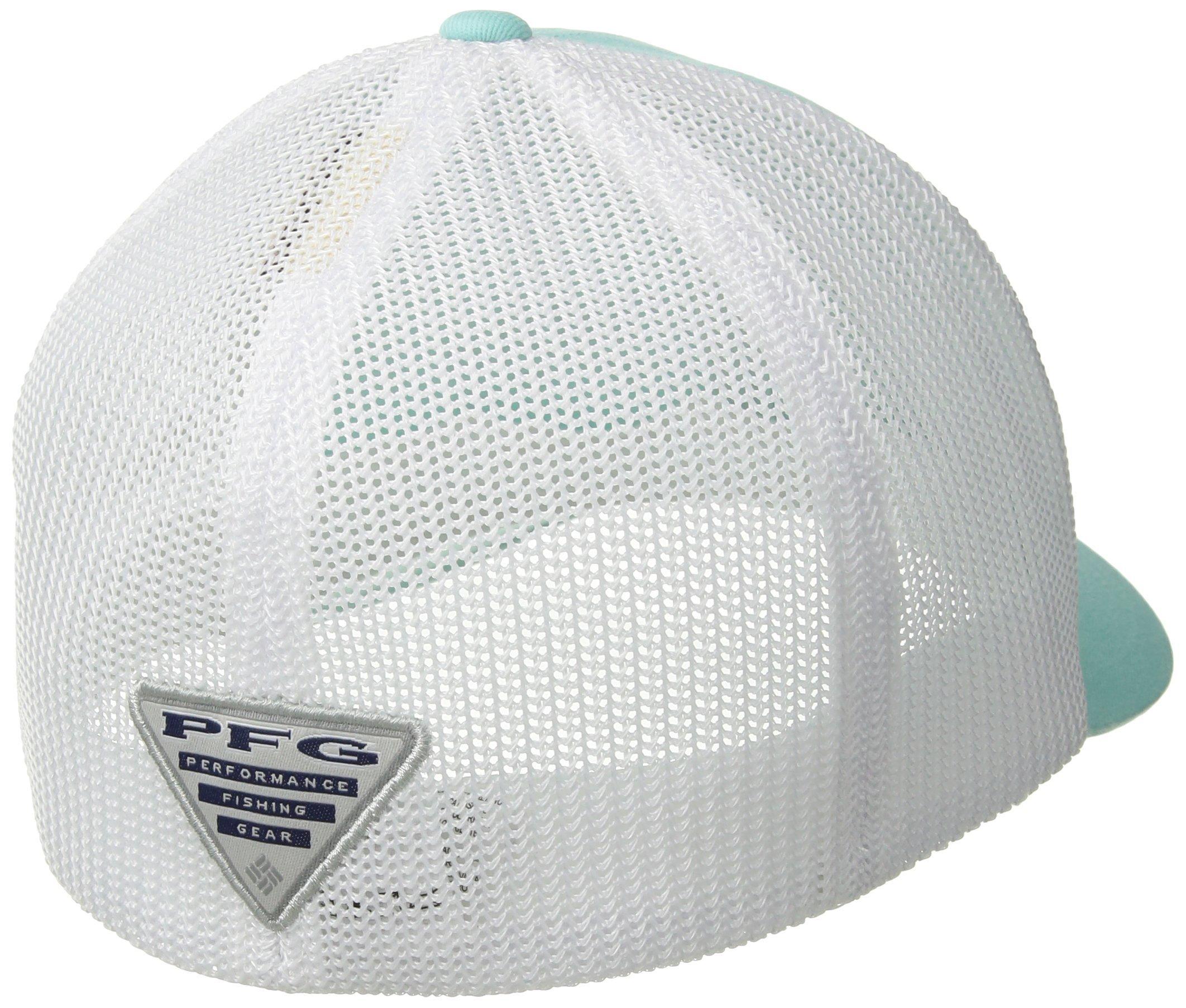 Columbia Men/'s PFG Mesh Ball Cap Vivid Blue Large//X-Large