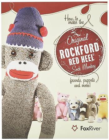Amazon How To Make The Original Rockford Red Heel Sock Monkey Amazing Sock Monkey Pattern