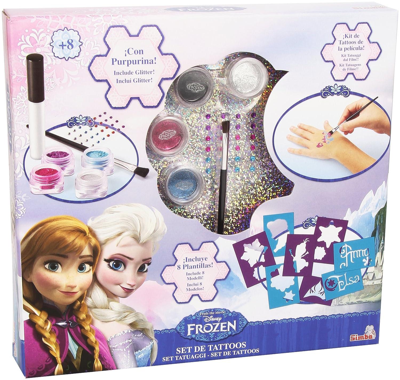 Disney Frozen - Juego Tatuajes mágicos (Simba 5562138): Amazon.es ...