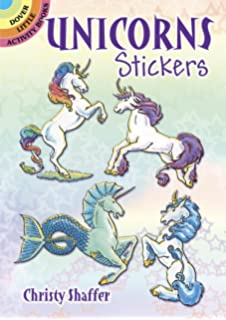 Unicorns Stickers Dover Little Activity Books