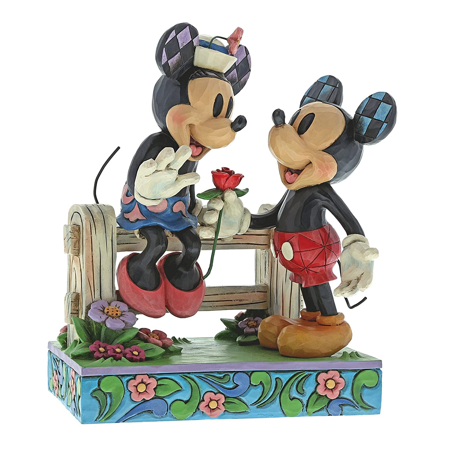 Disney Traditions Blossoming Romance - Mickey & Minnie Mouse Figur