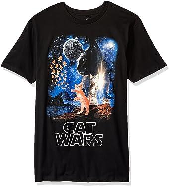 Funny Cat Shirt - Unisex Crew Neck, Funny Cat Shirt, Laser Cat, Space Cat, Galaxy Cat Shirt