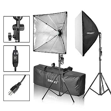emart softbox pography video studio equipment lighting kit 900 watt continuous po portrait light system